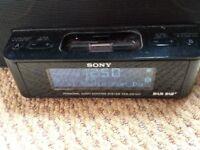 Sony docking station with dab radio