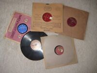 10 x 78 rpm records 1920's, 1930's, (Batch 5) dance, song, music, Fred Astaire, a music hall sketch