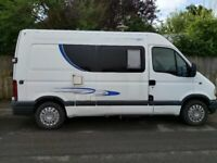 Renault, 2001, 2188 (cc), medium wheelbase, diesel, professional fit out camper