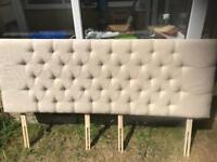 Super king headboard immaculate as new only six months old