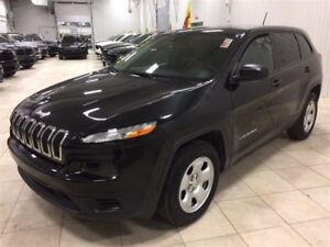 2015 Jeep Cherokee Sport *AWD, BLUETOOTH, HITCH*