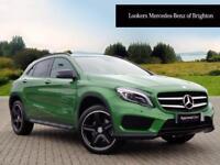 Mercedes-Benz GLA Class GLA 220 D 4MATIC AMG LINE PREMIUM PLUS (green) 2016-12-01