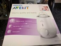 Avent Bottle Warmer - NEW and NEVER USED