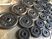 Pro Power & York Cast Iron Weights + Bars