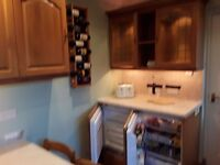 For sale kitchen units, double oven, hob,under fridge and freezer ,sink as seen
