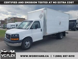 2014 Chevrolet Express G3500 16Ft Aluminum Box V8 Gas