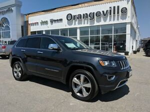 2016 Jeep Grand Cherokee LIMITED, 4X4, V6, ROOF, PWR GATE, RMTE