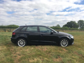 **Audi A3** 64 plate 1.6 Low Mileage Black 5 Door Great Condition