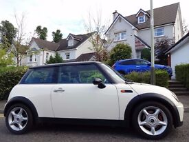12 MONTHS WARRANTY! (55) MINI COOPER Chilli Pack Pepper White- Low Mileage- Full BMW History