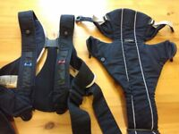 Baby Bjorn Baby Carrier - Grey and Black