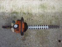 Stihl petrol heavy duty hedge cutter