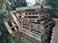 Free broken pallets for collection in Corsham - Ideal for firewood!