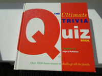 BRAND NEW QUIZ BOOK COMPILED by JOYCE ROBBINS, 3,000 QUESTIONS and ANSWERS + 2 PAPERBACK BOOKS