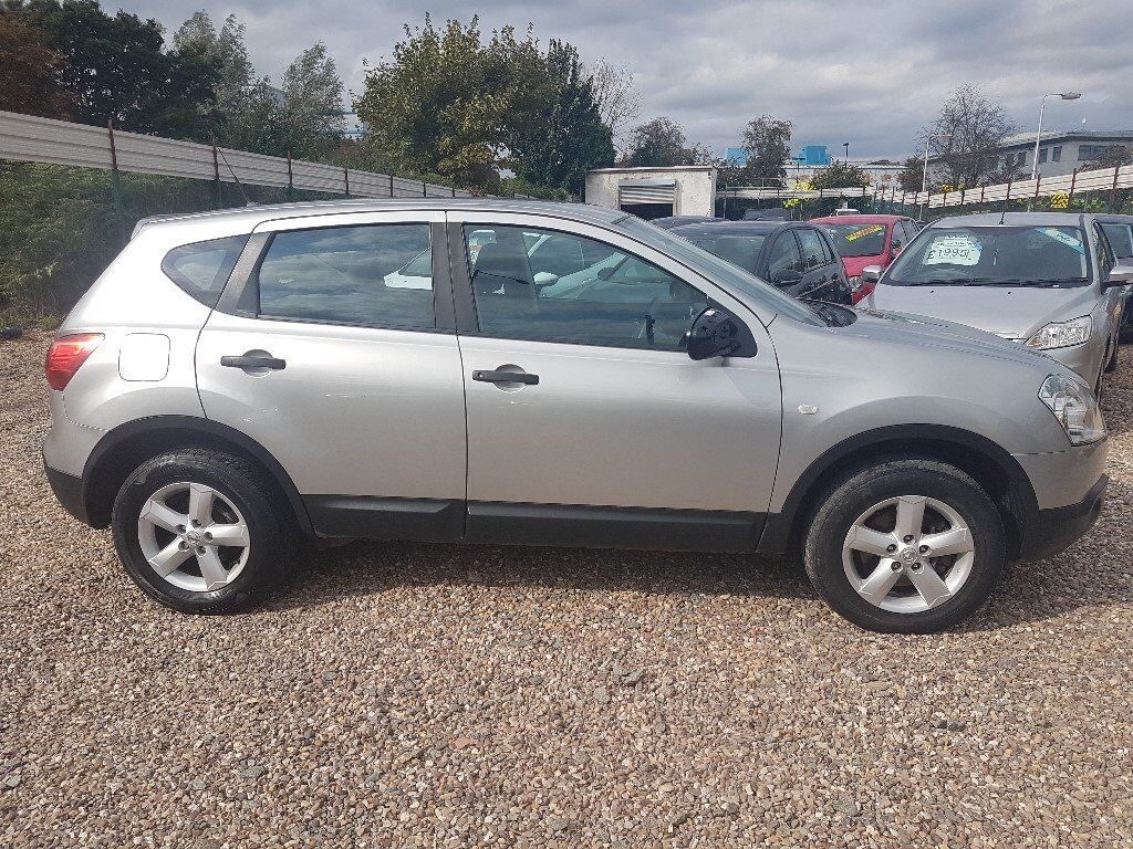 2009 Nissan Qashqai 2.0 DCi 4x4 PX to clear, Cheap car Drives Lovely off road 4x4 not 1.5