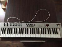 M-Audio Midi Keyboard 49 Key USB midi interface