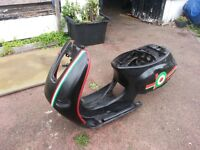 vespa piaggio et2 50 frame replacement part