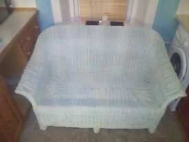 Rattan Suite (Sofa and 2 Chairs)