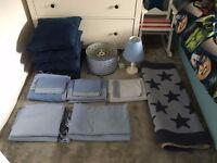 Laura Ashley Blue Stars Complete Bedroom Set