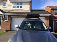 Large Car roof box and bars