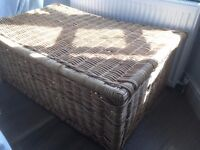 Large Wicker storage basket for sale