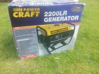 Power craft generator Model 2200LR