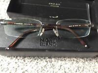 Designer Mont Blanc Glasses Frame