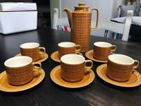 Hornsea coffee / tea set