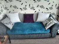 Grey 3+2 sofa