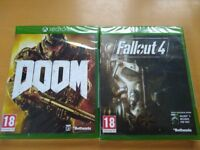 BRAND NEW DOOM GAME FOR XBOX ONE