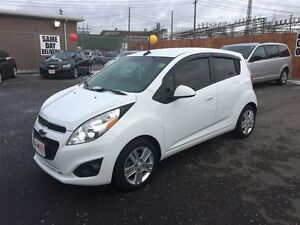 2013 CHEVROLET SPARK 1LT AUTO- LEATHER INTERIOR, CRUISE CONTROL,