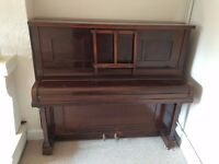 Used Piano. Free, No Charge. Needs Tuning. Must be Picked Up.