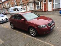 Audi A3 05 reg 80000 miles fsh dsg semi auto