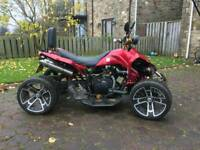 2010 road legal 350cc quad
