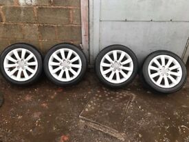 Audi A1 wheels and tyres