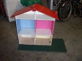 Doll's Wooden House