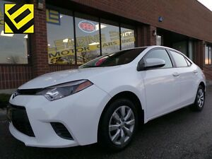 2015 Toyota Corolla LE $49/ week, BACK UP CAMERA, BLUETOOTH