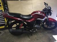 2014 KYMCO PULSAR 125 LEARNER LEGAL MOTORBIKE BARGAIN MAY SWAP PX