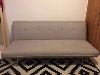 Miki Sofa Bed Quail Beige from Made - in good condition