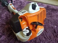 stihl km56rc 07.2015 kombi engine in excellent working order,fs56,km111,km131