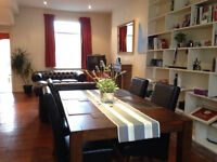 Spacious 3 large double bedroom house in SW6, Fulham, large double reception room & private garden.