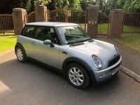 Immaculate Mini One Low Mileage Two Lady Owners Manual 1.6 Petrol