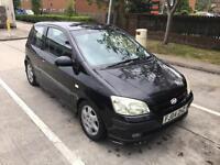 Black Hyundai Getz (3dr)