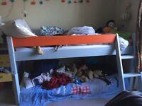 John Lewis Mid Sleeper single Childs Bed.