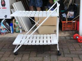 Garden hostess trolley (unusual item)