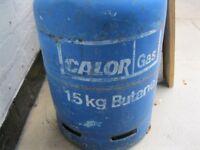15 KG BUTANE GAS CALOR GAS BOTTLE FULL