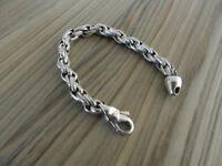 Men's Chunky Bracelet 925 Silver 50 grams