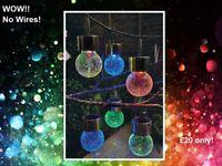 Crackle Ball Solar Lights