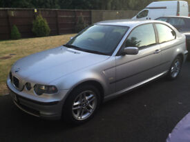BMW 3 SERIES (E46) 318 Ti SE COMPACT - VERY LOW MILEAGE 65K - 12 MONTHS MOT - FULL SERVICE HISTORY