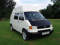 VW T4 - Factory High Top - 2.5 TDi - Day Van - RIB Seats - Swivels - Lined - Cruise - Serviced