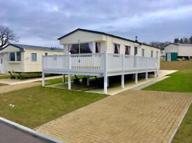 Stunning 3 bedroom static caravan for sale including PVC decking near Durham, Stanhope & Hartlepool.
